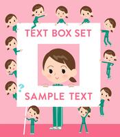 school girl Green jersey_text box