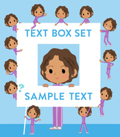school dark skin girl purple jersey_text box