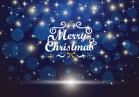 クリスマスの青いキラキラの背景