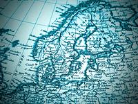 古地図 北欧