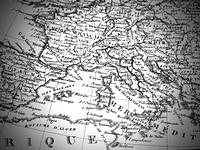 古地図 ヨーロッパ