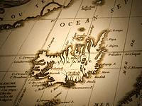 古地図 アイスランド