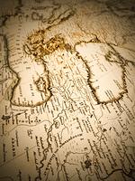古地図 中近東