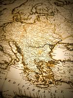 古地図 バルカン半島