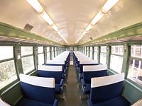 レトロな特急列車