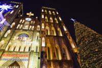 歴史的建造物であるハノイ大教会