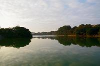 ホアンキエム湖に浮かぶ玉山祠