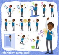 flat type school boy black_complex