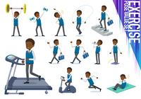 flat type school boy black_exercise