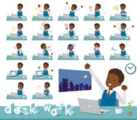 flat type school boy black_desk work