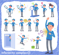 flat type Delivery men_complex