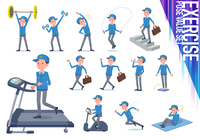 flat type Delivery men_exercise
