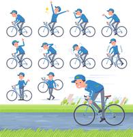 flat type Delivery men_road bike