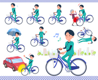 flat type surgical doctor men_city cycle