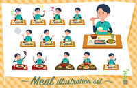 flat type surgical doctor men_Meal