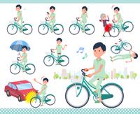 flat type patient men_city cycle