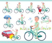 flat type patient old men_city cycle