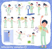 flat type patient men_complex