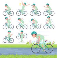 flat type patient men_road bike