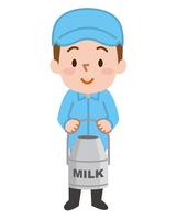 酪農家 牛乳