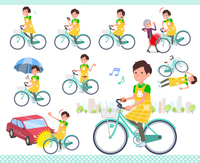 flat type Childminder men_city cycle