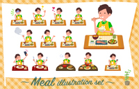 flat type Childminder men_Meal