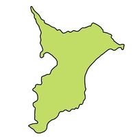 千葉 地図 フレーム アイコン