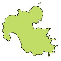 大分 地図 フレーム アイコン