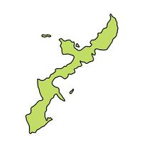 沖縄 地図 フレーム アイコン