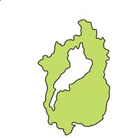 滋賀 地図 フレーム アイコン
