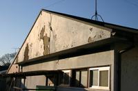 廃墟のアパート