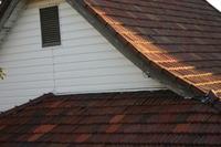 昔ながらの屋根瓦