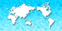 世界 地図 大陸 背景