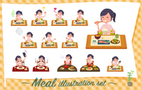 flat type chiropractor women_Meal