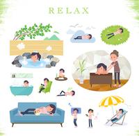 flat type chiropractor women_relax