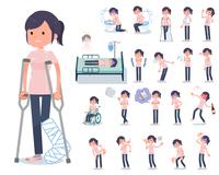 flat type chiropractor women_sickness