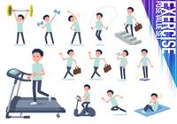 flat type chiropractor men_exercise