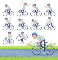 flat type chiropractor men_road bike