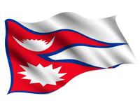 ネパール  国 旗 アイコン