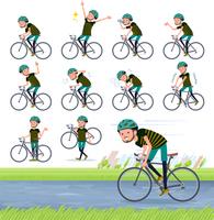 flat type Middle men sportswear_road bike