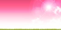 春 空 ピンク 背景