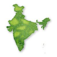 インド 地図 フレーム アイコン