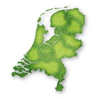 オランダ 地図 フレーム アイコン
