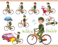 flat type military wear man_city cycle
