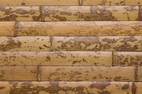 竹の皮を貼った板