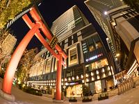 日本橋 コレド室町と福徳神社