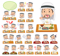 Arab Kandura men_Meal
