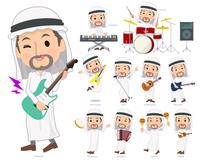 Arab Kandura men_pop music