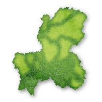 岐阜 地図 緑 アイコン