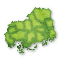 広島 地図 緑 アイコン